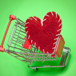 Stock Photo: Love shopping