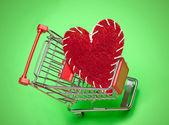 Adore faire du shopping — Photo