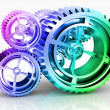 Royalty-Free Stock Photo: Machine Gears