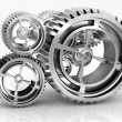 Machine Gears - Stock Photo
