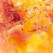 Pink and orange watercolor background — Stock Photo