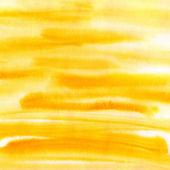 Orange watercolor striped background — Stock Photo