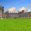 Kilkenny Castle and gardens - Stock Photo