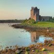 Castle in Kinvara on west coast - Stock Photo