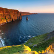 Royalty-Free Stock Photo: Cliffs of Moher at sunset