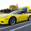 Yellow Corvette — Stock Photo #8108795