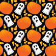 Halloween Seamless pattern — ストックベクタ