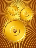 Gears 2 — Stock Vector