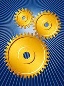 Gears 1 — Stock Vector