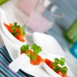 Salmon bouche — Stock Photo