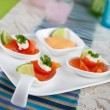 Salmon bouche — Stock Photo #9770052