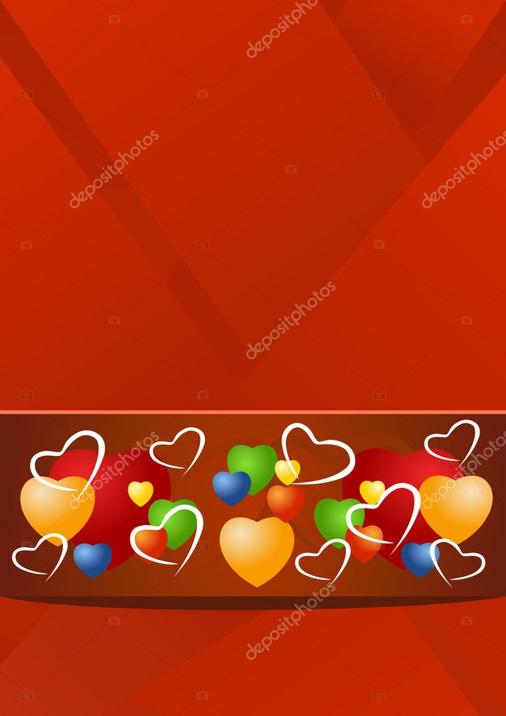Valentine illustration — Stock vektor #9237835