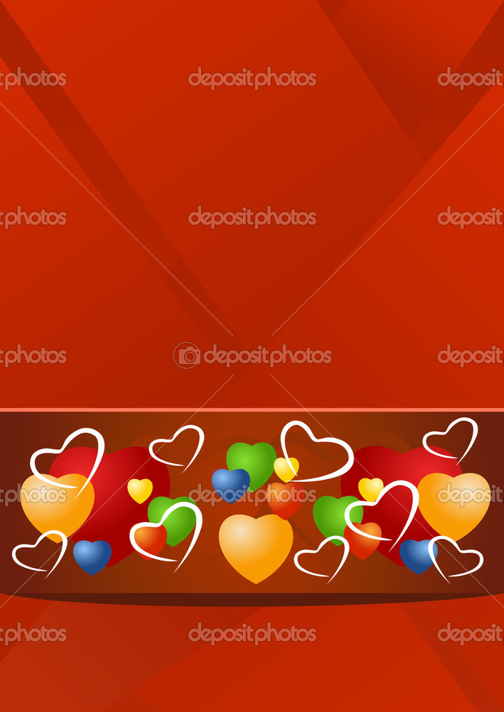 Valentine illustration — Stockvectorbeeld #9237835