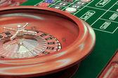 Red Casino roulette — Stock Photo