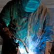 Stock Photo: Welding Steel