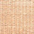 Handmade braided brushwood bamboo basket detail texture - Stock Photo