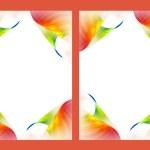 Double photo frame — Stock Photo #10481598
