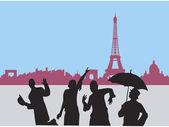 Paris - la ciudad del arte — Foto de Stock