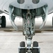 Plane landing gears — Stock Photo