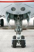 Plane landing gears — Foto de Stock