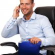 Busy boss portrait — Stock Photo #10726143