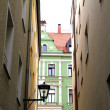 Stock Photo: Downtown in Regensburg