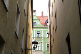 Downtown in Regensburg — Stock Photo