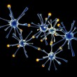 Neuronal Network — Stock Photo