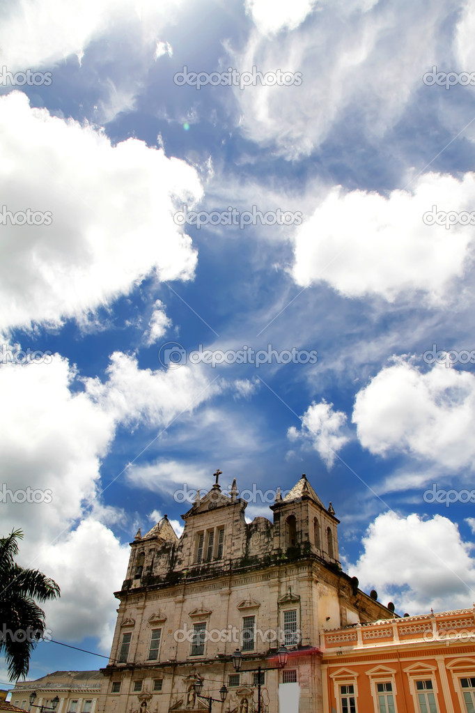 Church in Salvador, Bahia, Brazil, South america. — Stock Photo #10142301