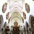 Stock Photo: Interior of the Cathedral of Kaisheim