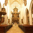 Interior of the Cathedral of Kaisheim — Stock Photo