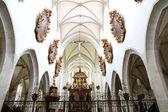 Innenraum der kathedrale von kaisheim — Stockfoto