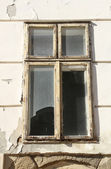 Rotten window — Stock Photo