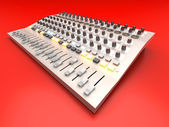 Mixing board — Foto Stock