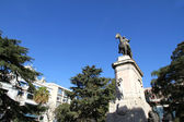 Plaza Zabala in Montevideo — Stock Photo