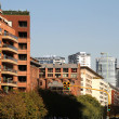 Buildings in La Reserva, Buenos Aires — Stock Photo