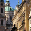 Historic Architecture in Prague — Stok fotoğraf