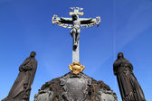 Cross in Prague — Stock Photo