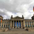 The Reichstag in Berlin — Stockfoto