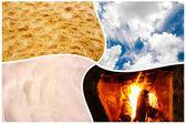 Four elements — Stock Photo