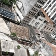 Stock Photo: Rundown Buildings in Salvador