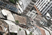 Rundown Buildings in Salvador — Stock Photo