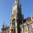 The Rathaus of Munich - Stock Photo