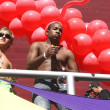 Gay Parade in Sao Paulo - Stock Photo