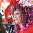 Drag Queen on the Gay Parade in Sao Paulo - 图库照片