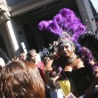 Drag Queen on the Gay Parade in Sao Paulo - Stockfoto