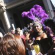 Drag Queen on the Gay Parade in Sao Paulo — 图库照片