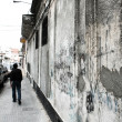 Walking along in Palermo, Montevideo - Stock Photo