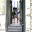 Stock Photo: Houseentrance in Cordon, Montevideo