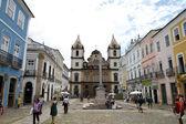 Stare miasto w salvador de bahia — Zdjęcie stockowe